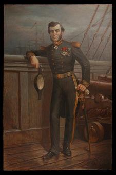 Potrait de Doudart de Lagrée, général de frégate