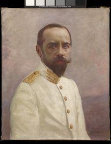 Portrait d' Albert Sarraut, Général de l'Indochine et ministre des Colonies