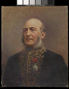Portrait de l'Amiral de la Grandière