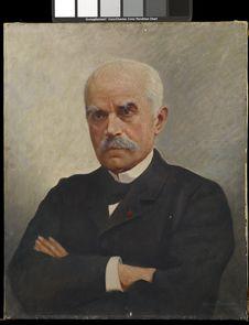 Portrait de Charles Marie Le Myre de Villers, premier gouverneur de l'Indochine