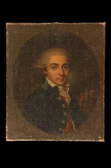 Portrait de Antoine, chevalier de Bertin, poète créole de l'Ile de Bourbon...