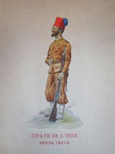 Cipaye de l'Inde - petite tenue