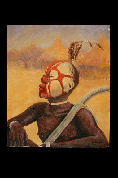 Jeune initié Kaba de la société secrète Bell