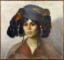 Tête de femme de Biskra
