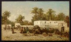 Campement arabe