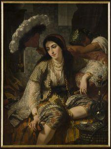 Algérienne et son esclave