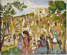 La Fête arabe dans la campagne de Tlemcen
