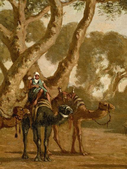 Oasis arabe