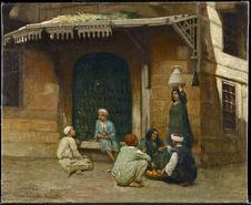 Vue de Damiette