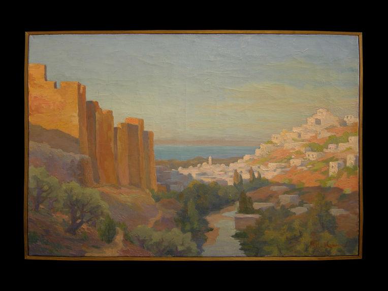 Vue du Château de Tripoli