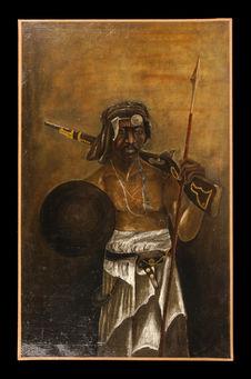 Portrait de guerrier sakalava