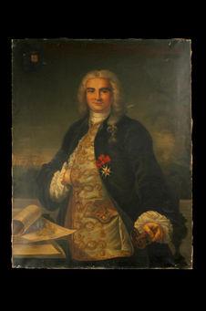 Portrait de Mahé de la Bourbonnais