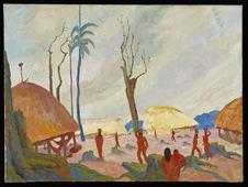 Village wayana, Guyane