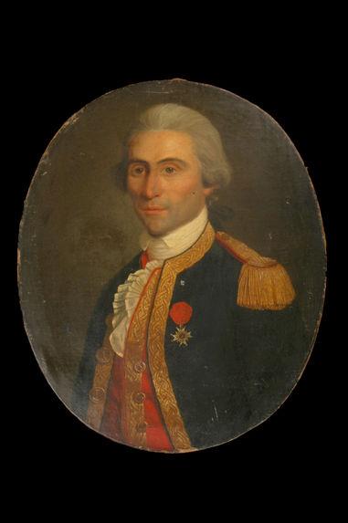 Portrait de Pierre Duval, chef d'escadron, Guadeloupe