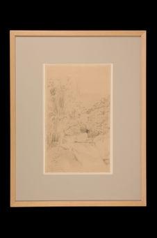 Paysage avec rivière et cascade (Vaïravoa)