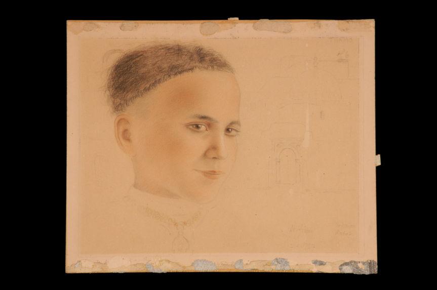 Sans titre [Portrait de petite fille - Rabat]