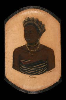 Portrait d'une femme bara