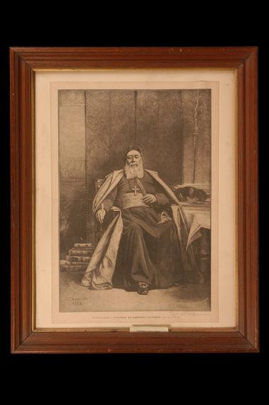 Portrait du cardinal Lavigerie