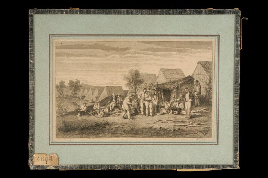 Nouvelle-Calédonie. Le camp des déportés dans la presqu'île Ducos