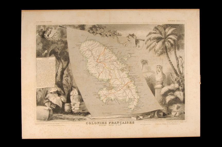 Colonies françaises Martinique. Amérique du Sud