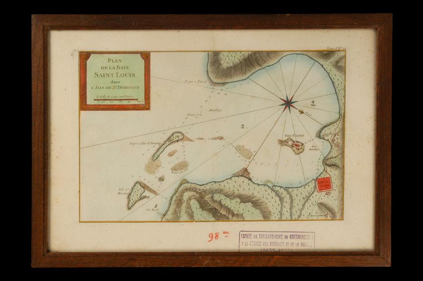 Plan de la Baye Saint Louis dans l'Isle de St Domingue
