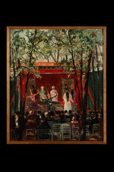 Théâtre indochinois - Pavillon de l'Exposition Internationale de Vincennes 1931