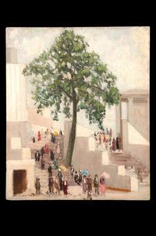 Escalier de la porte Dorée