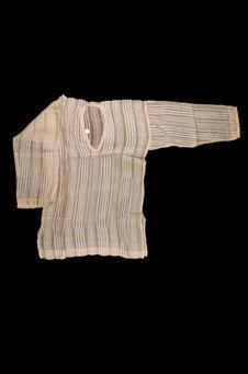 Costume d'intérieur de femme : chemise