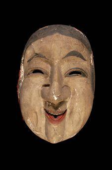 Grand masque d'Okame