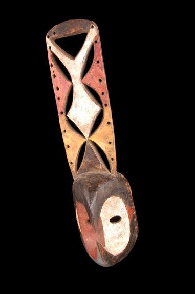 Masque facial zoomorphe