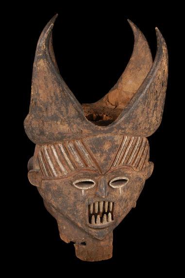 Masque janus anthropomorphe