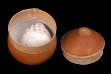 Boîte contenant du kaolin