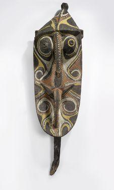 Sculpture anthropomorphe (visage)