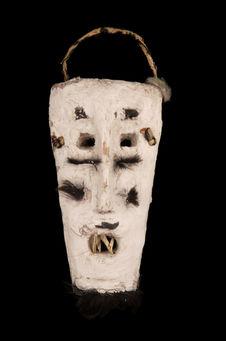 Masque d'Achoura porté par les « zaluqiu »