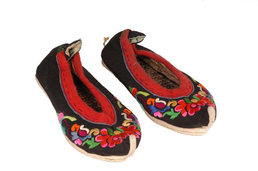 Costume de femme : chaussure