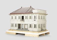 Maquette d'une maison coloniale de Saint-Denis
