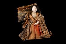 Poupée représentant une demoiselle du palais