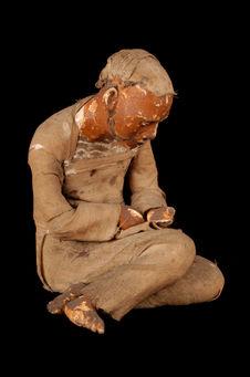 Figurine représentant un viellard