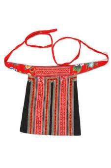 Costume de petite fille : tablier de dos