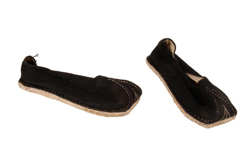 Costume d'homme du peuple : chaussures