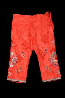 Costume de jeune femme : pantalon
