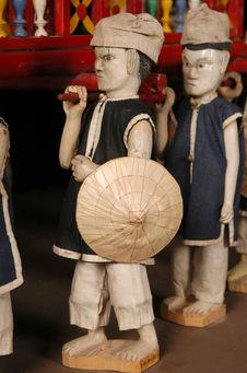 Statuettereprésentant un porteur de catafalque