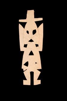 Figure en papier