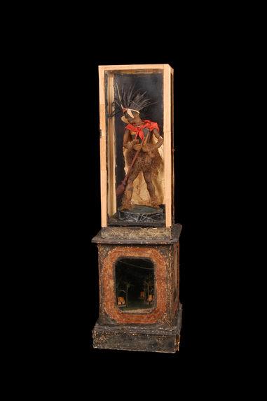 Statuette de guerrier marquisien