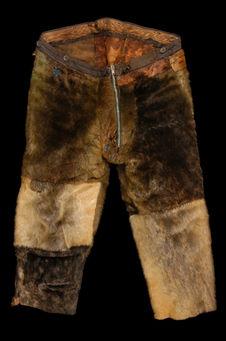 Pantalon d'homme en fourrure