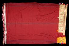 Robe drapée de femmme