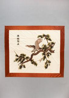 Broderie sur soie