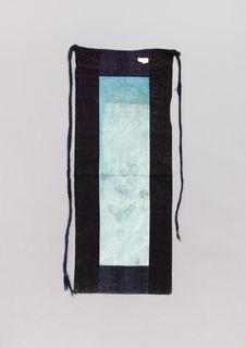 Costume de femme : tablier de dos