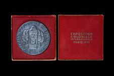 Médaille - Exposition Coloniale Internationale Paris 1931