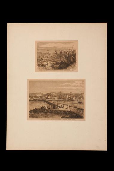 Extraction des blocs destinés au port de Saint Pierre - Travaux exécutés au port de Saint-Pierre